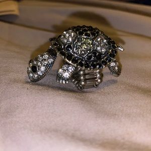 Turtle Ring, Stretchy, Fits Snug